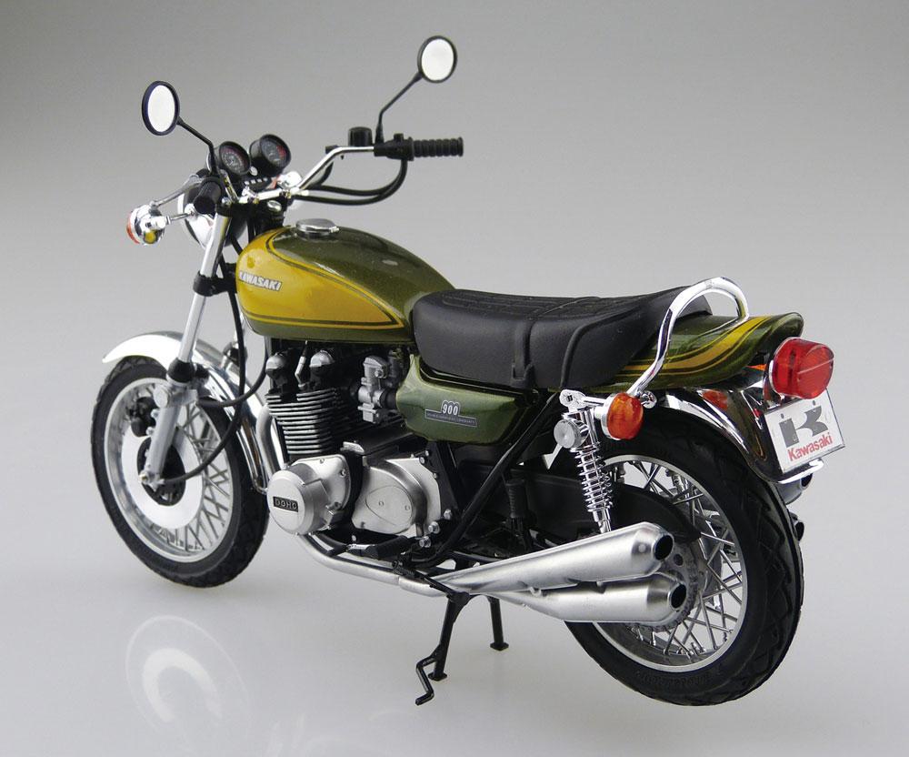 カワサキ 900 SUPER 4 Z1 カスタムパーツ付属プラモデル(アオシマ1/12 バイクNo.056)商品画像_3