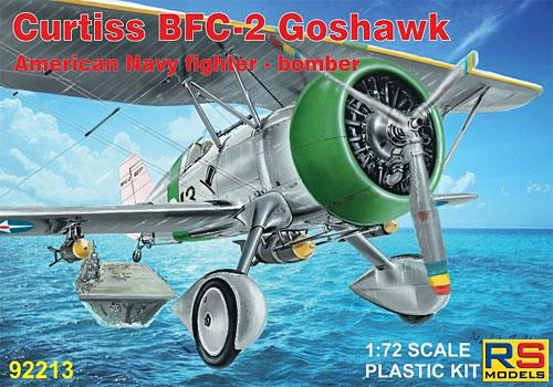 カーチス BFC-2 ゴスホークプラモデル(RSモデル1/72 エアクラフト プラモデルNo.92213)商品画像