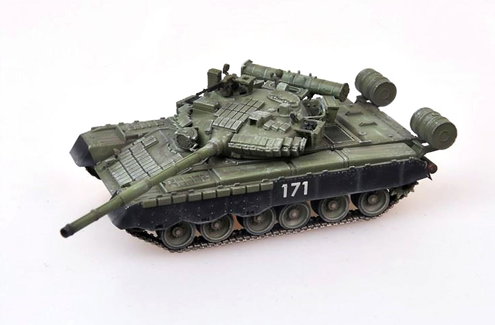 ロシア T-80BV 主力戦車 第1次チェチェン紛争完成品(モデルコレクト1/72 AFV 完成品モデルNo.MODAS72083)商品画像_2