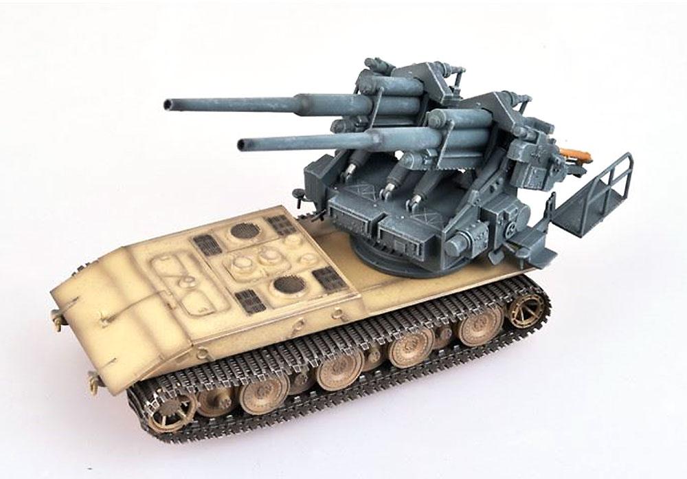 ドイツ E-100 ウェポンキャリアー w/128mm FlaK40 ツヴィリング高射砲 1946年完成品(モデルコレクト1/72 AFV 完成品モデルNo.MODAS72085)商品画像_2