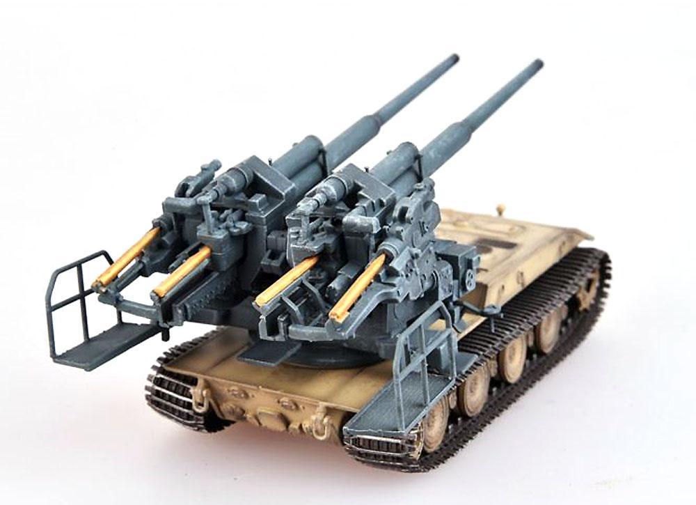ドイツ E-100 ウェポンキャリアー w/128mm FlaK40 ツヴィリング高射砲 1946年完成品(モデルコレクト1/72 AFV 完成品モデルNo.MODAS72085)商品画像_3