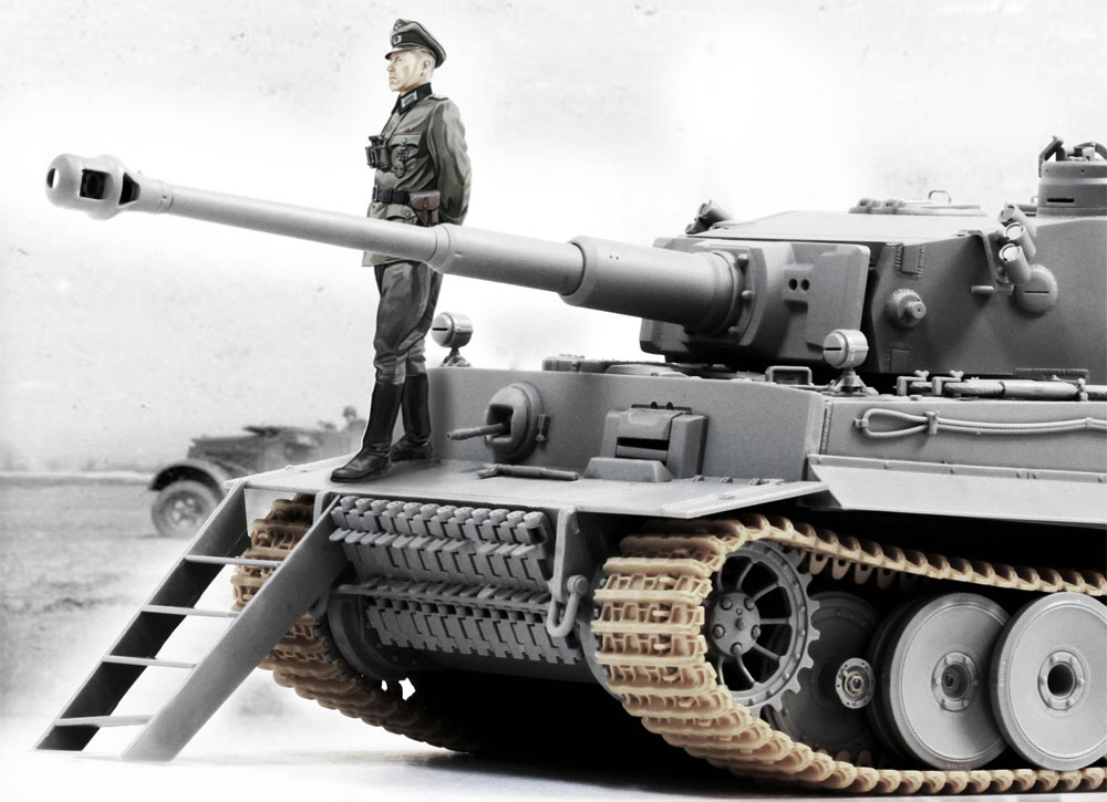 ドイツ ティーガー 1 初期生産型 TiKi ダスライヒ師団  (クルスク戦)プラモデル(ドラゴン1/35 39-45 SeriesNo.6885)商品画像_3