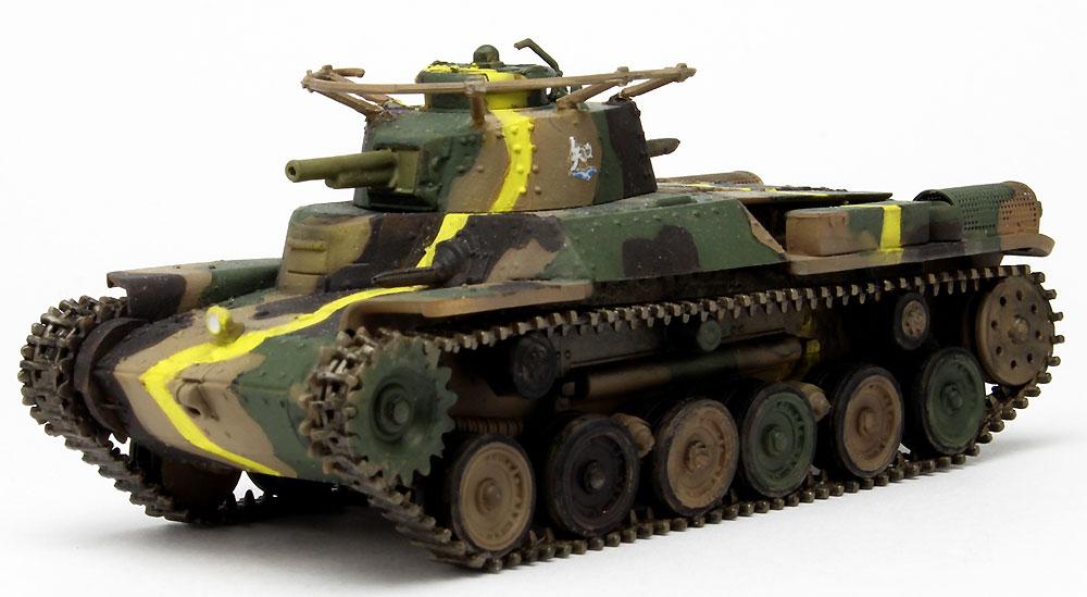 九七式中戦車 (旧砲塔) 知波単学園完成品(プラッツてのひら戦車道コレクションNo.GPC72-008)商品画像_2