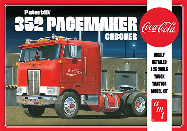 コカコーラ ピータービルト 352 ペースメーカー キャブオーバープラモデル(amt1/25 カーモデルNo.AMT1090/06)商品画像