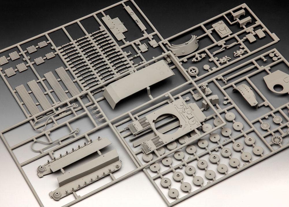 6号戦車 ティーガー E型プラモデル(レベル1/72 ミリタリーNo.03262)商品画像_1