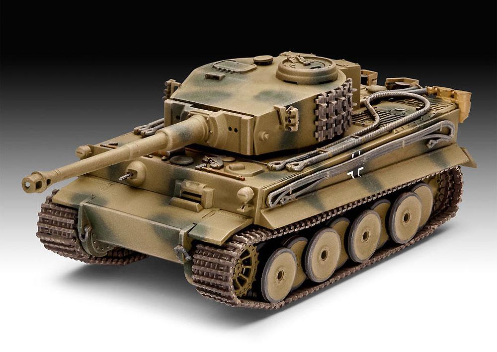6号戦車 ティーガー E型プラモデル(レベル1/72 ミリタリーNo.03262)商品画像_2