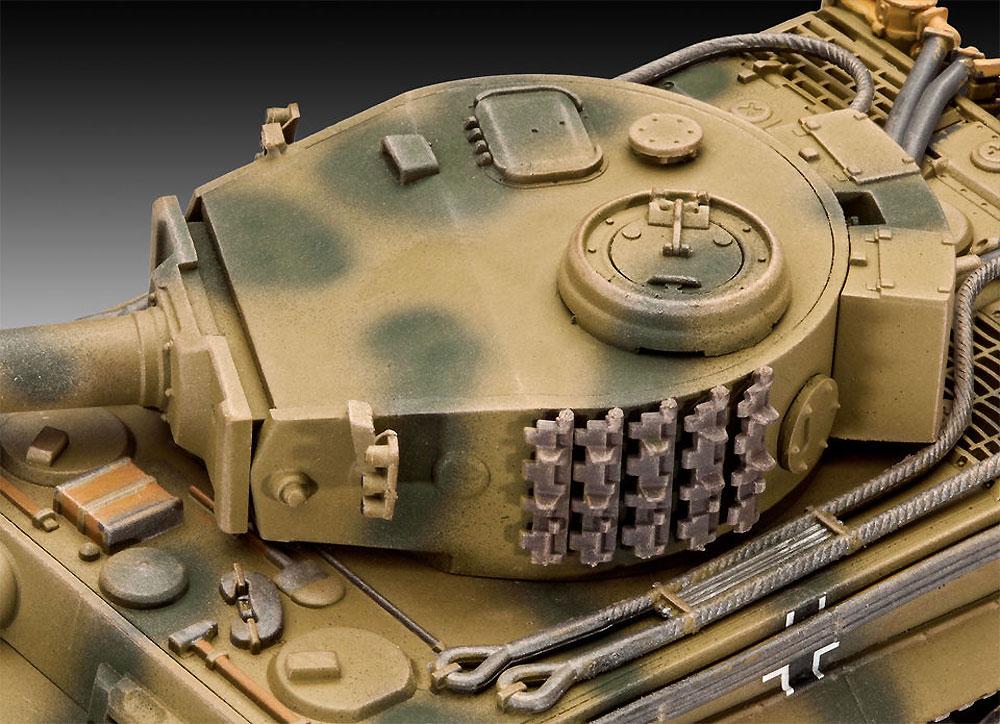 6号戦車 ティーガー E型プラモデル(レベル1/72 ミリタリーNo.03262)商品画像_3
