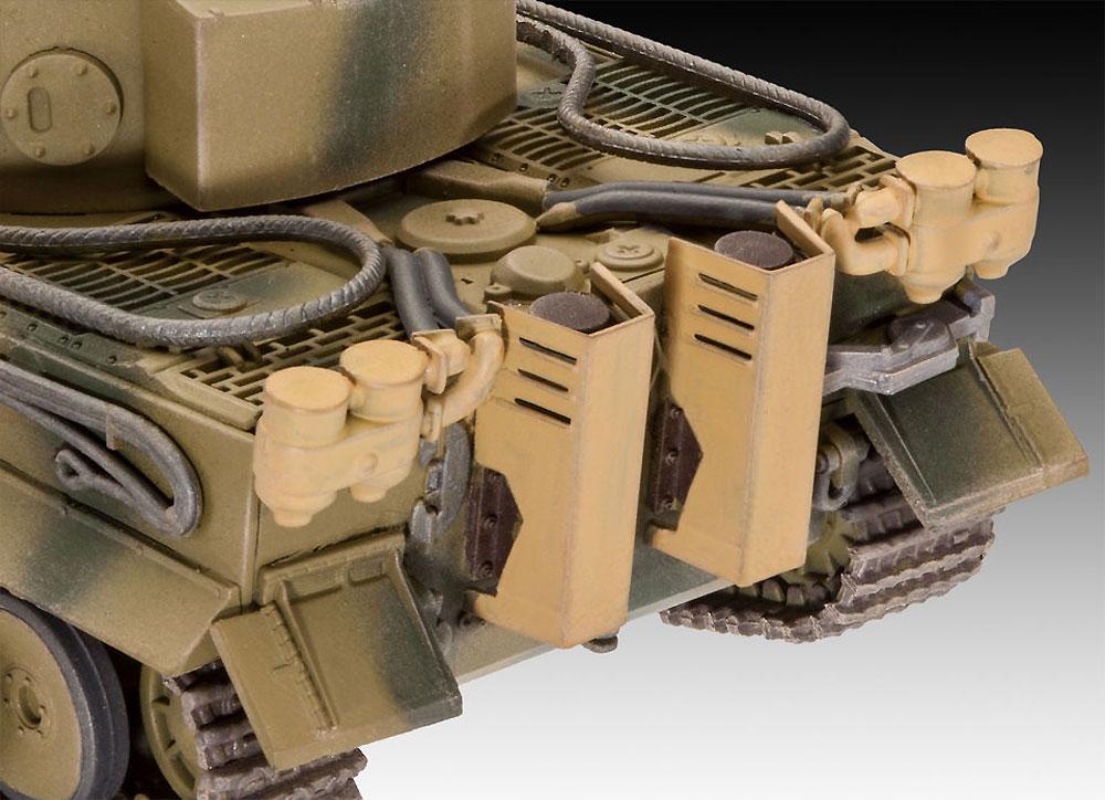 6号戦車 ティーガー E型プラモデル(レベル1/72 ミリタリーNo.03262)商品画像_4