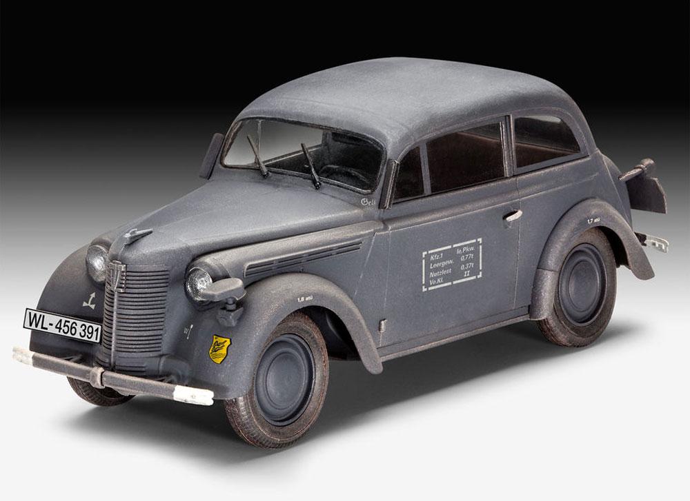 ドイツ スタッフカー カデット K38 サルーンプラモデル(レベル1/35 ミリタリーNo.03270)商品画像_2