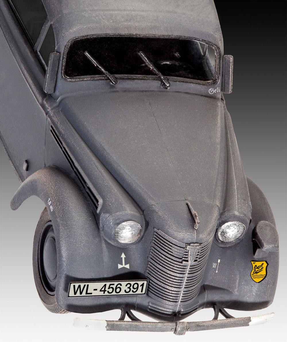 ドイツ スタッフカー カデット K38 サルーンプラモデル(レベル1/35 ミリタリーNo.03270)商品画像_3