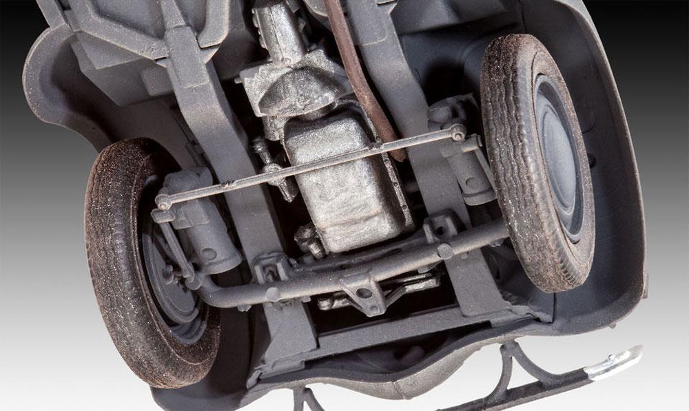 ドイツ スタッフカー カデット K38 サルーンプラモデル(レベル1/35 ミリタリーNo.03270)商品画像_4