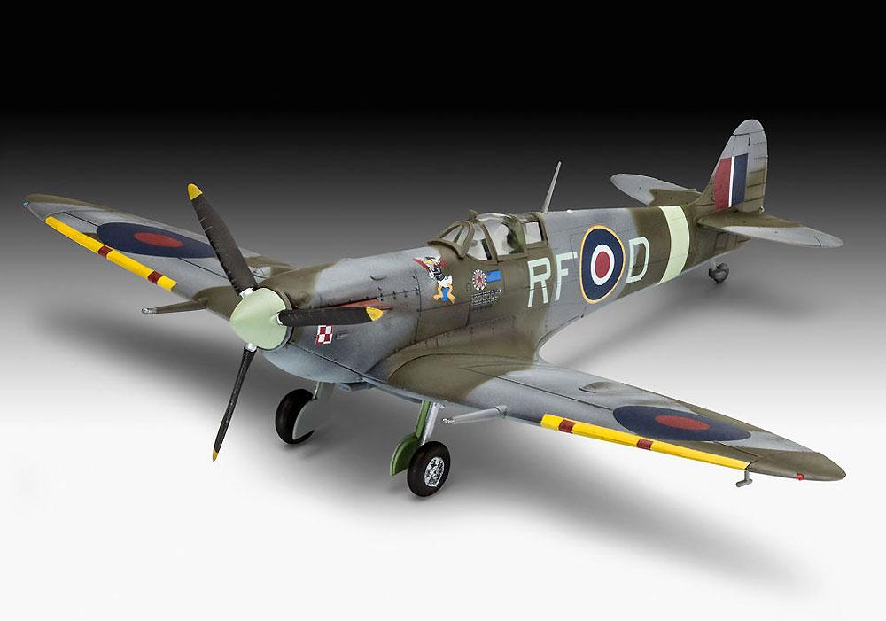 スピットファイア Mk.5bプラモデル(レベル1/72 飛行機No.03897)商品画像_2