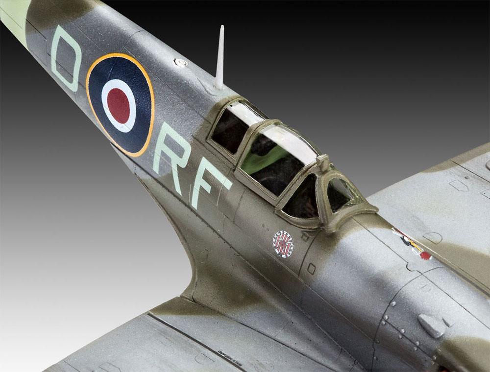 スピットファイア Mk.5bプラモデル(レベル1/72 飛行機No.03897)商品画像_4