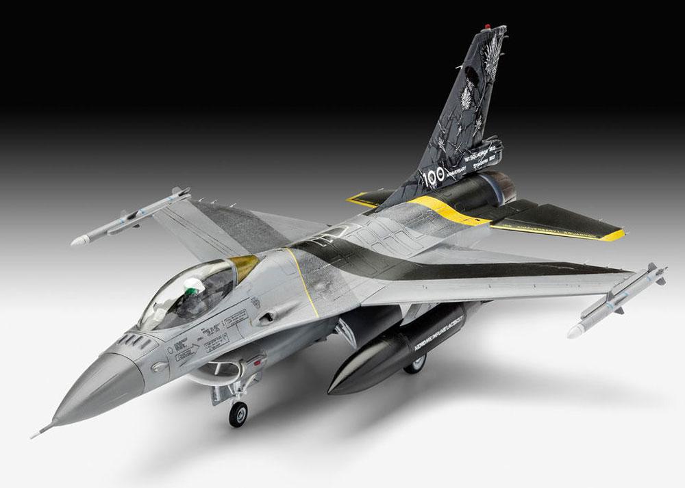 F-16Mlu ファイティングファルコン 100th アニバーサリープラモデル(レベル1/72 AircraftNo.03905)商品画像_2
