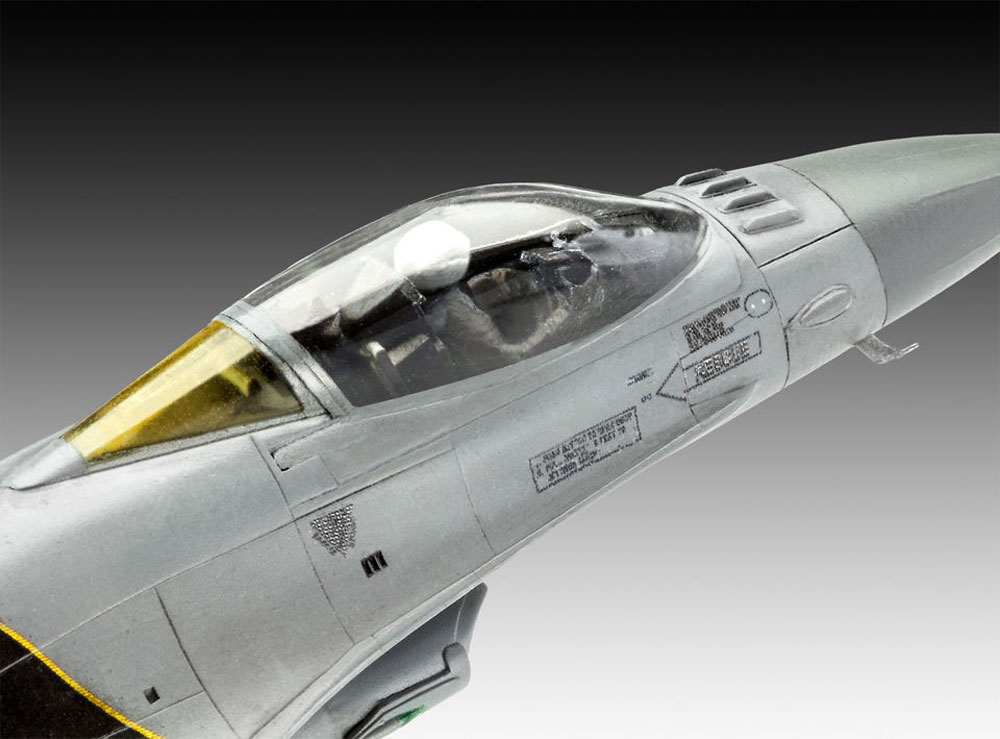 F-16Mlu ファイティングファルコン 100th アニバーサリープラモデル(レベル1/72 AircraftNo.03905)商品画像_3