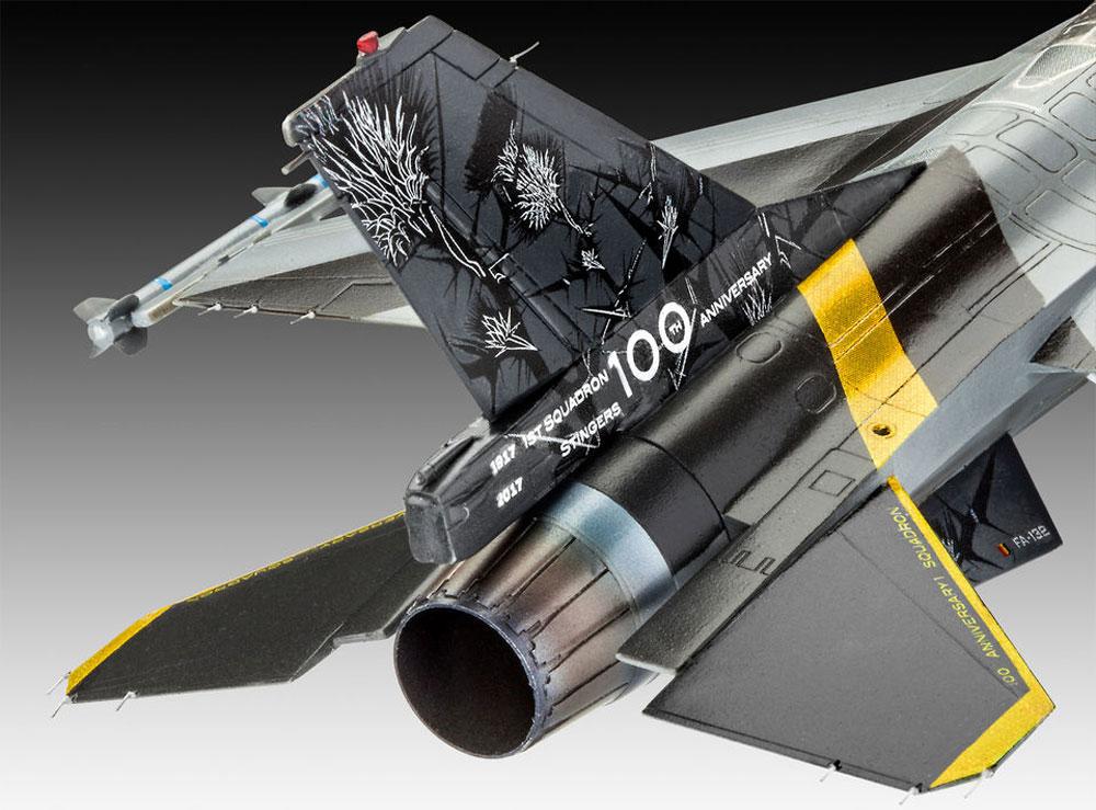 F-16Mlu ファイティングファルコン 100th アニバーサリープラモデル(レベル1/72 AircraftNo.03905)商品画像_4