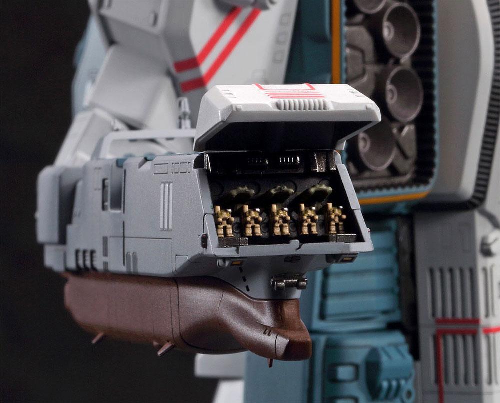 SDF-1 マクロス艦 強攻型 w/プロメテウス & ダイダロスプラモデル(ハセガワマクロスシリーズNo.65841)商品画像_4