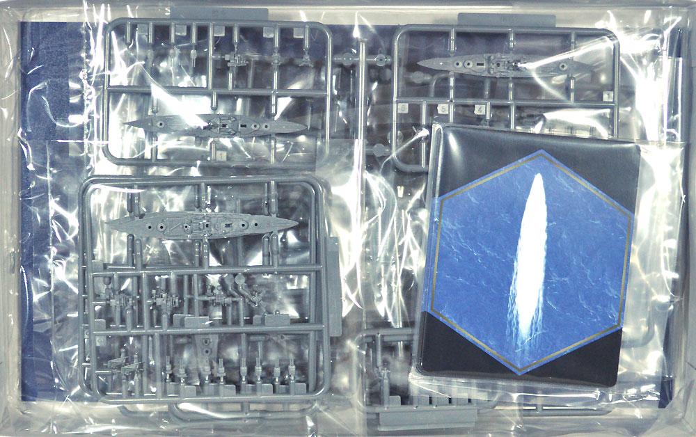 日本海軍 連合艦隊 主力戦艦 12艦セットプラモデル(フジミ集める軍艦シリーズNo.010)商品画像_1