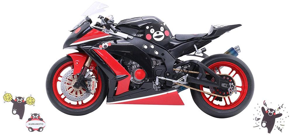 レーシングバイク くまモンバージョンプラモデル(フジミくまモンNo.013)商品画像_2