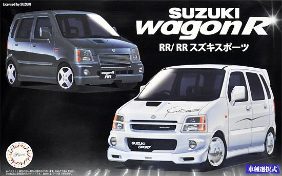 スズキ ワゴン R RR/RR スズキスポーツプラモデル(フジミ1/24 インチアップシリーズNo.045)商品画像
