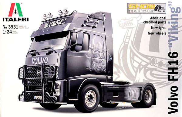 ボルボ FH16 XXL ヴァイキングプラモデル(イタレリ1/24 トラックシリーズNo.3931)商品画像