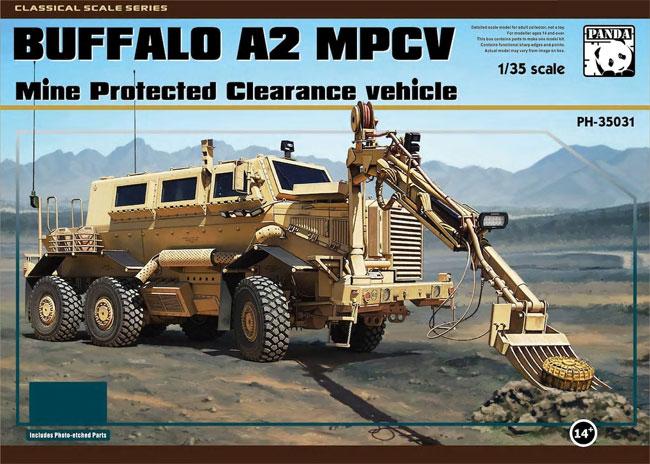 バッファロー A2 MPCV 地雷除去車プラモデル(パンダホビー1/35 CLASSICAL SCALE SERIESNo.PH35031)商品画像