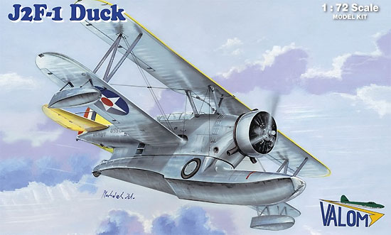 J2F-1 ダック 水陸両用機 初期型プラモデル(バロムモデル1/72 エアクラフト プラモデルNo.72112)商品画像