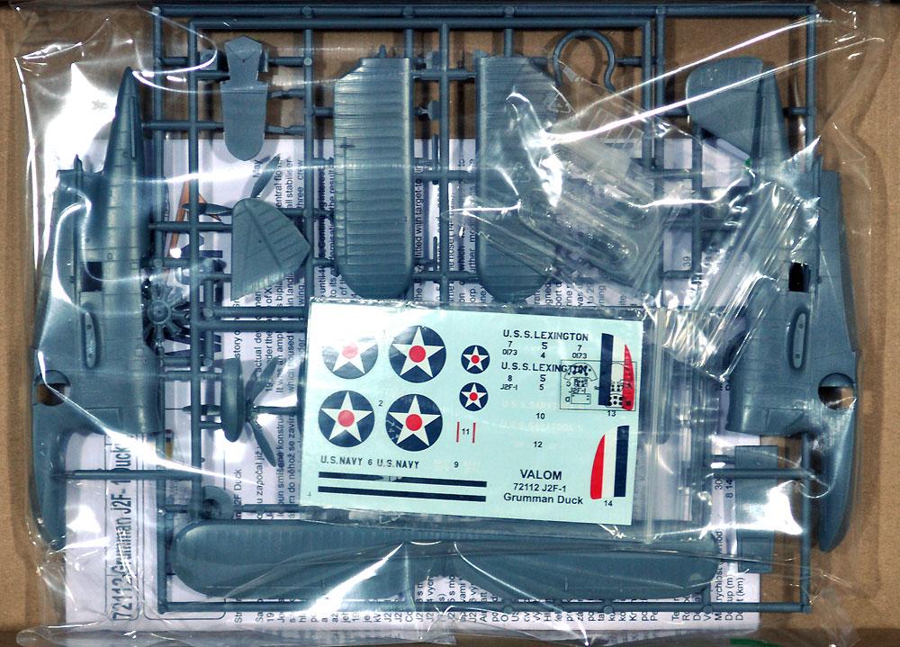 J2F-1 ダック 水陸両用機 初期型プラモデル(バロムモデル1/72 エアクラフト プラモデルNo.72112)商品画像_1