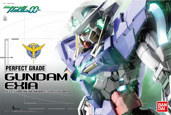 GN-001 ガンダム エクシアプラモデル(バンダイPG (パーフェクトグレード)No.0222249)商品画像