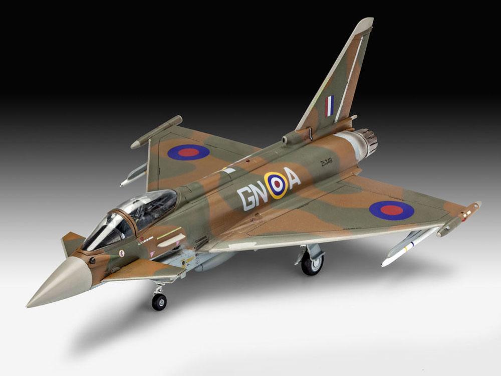 ユーロファイター タイフーン RAFプラモデル(レベル1/72 飛行機No.03900)商品画像_2