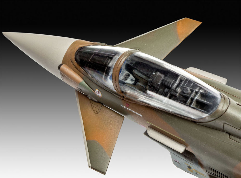 ユーロファイター タイフーン RAFプラモデル(レベル1/72 飛行機No.03900)商品画像_3