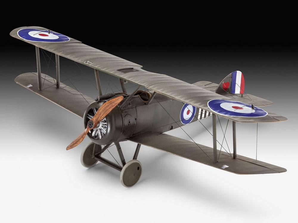 ソッピース F.1 キャメルプラモデル(レベル1/48 飛行機モデルNo.03906)商品画像_2
