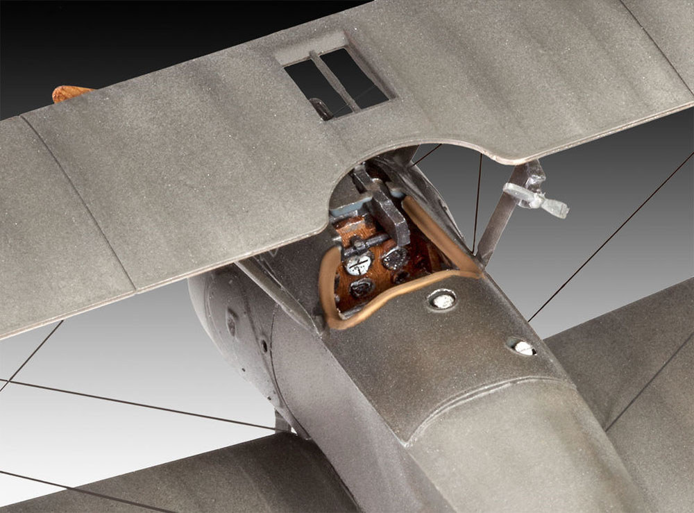 ソッピース F.1 キャメルプラモデル(レベル1/48 飛行機モデルNo.03906)商品画像_4