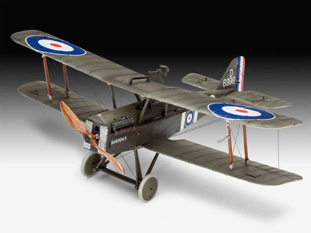 イギリス S.E.5aプラモデル(レベル1/48 飛行機モデルNo.03907)商品画像_2