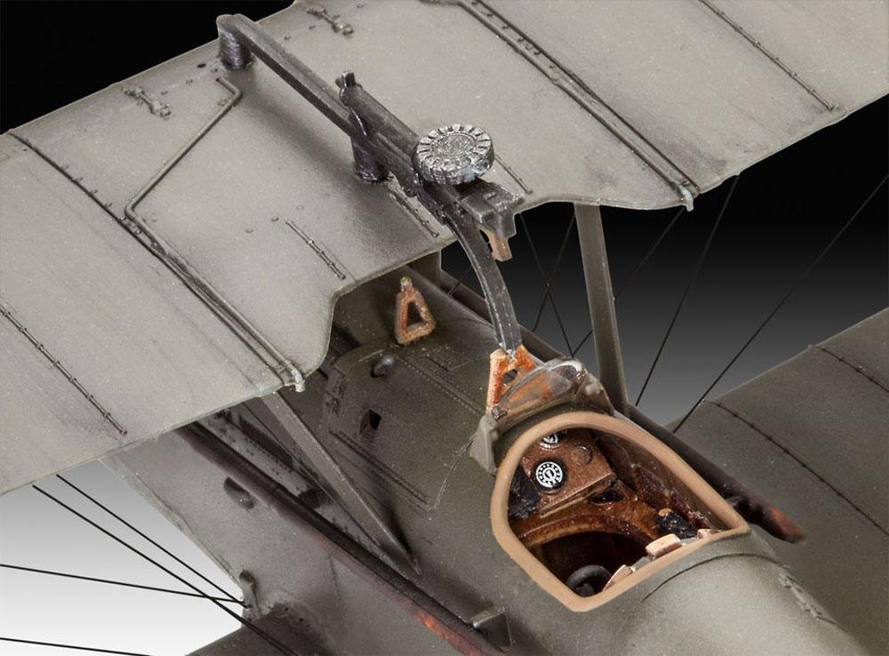 イギリス S.E.5aプラモデル(レベル1/48 飛行機モデルNo.03907)商品画像_4