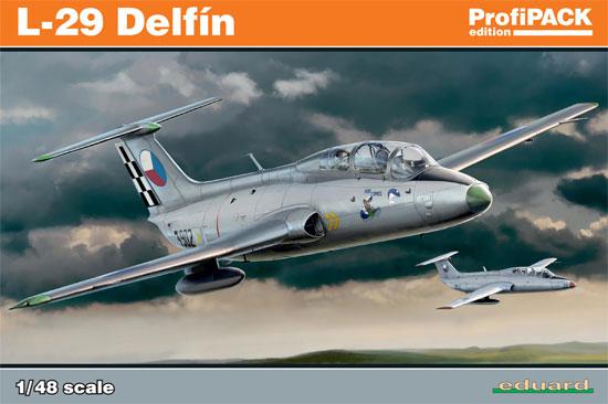 アエロ L-29 デルフィンプラモデル(エデュアルド1/48 プロフィパックNo.8099)商品画像