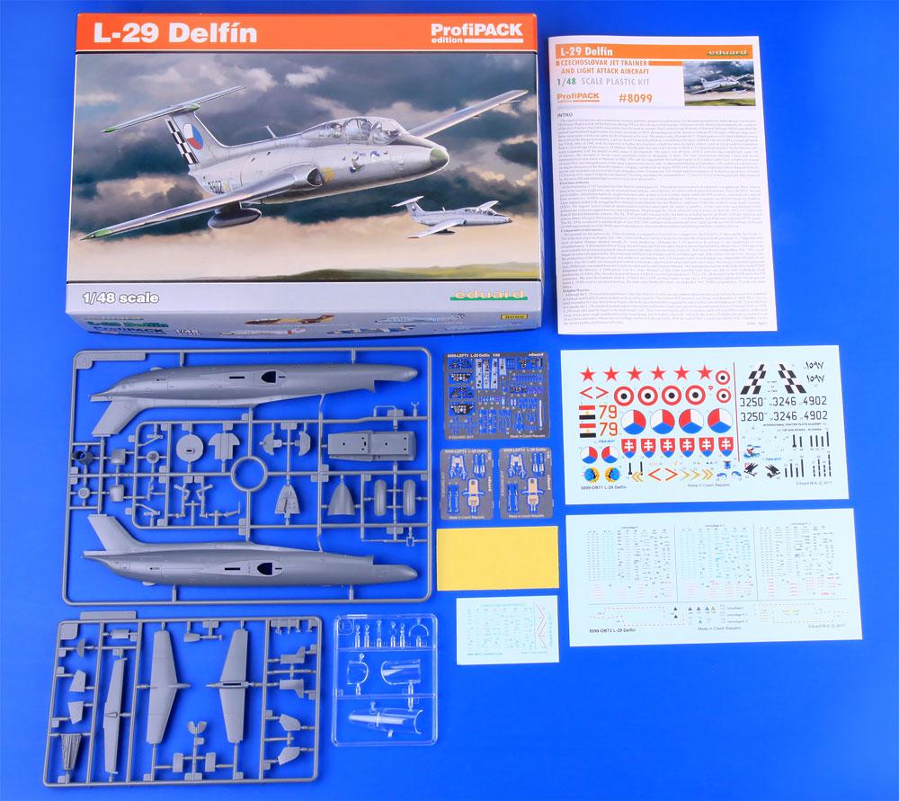 アエロ L-29 デルフィンプラモデル(エデュアルド1/48 プロフィパックNo.8099)商品画像_1