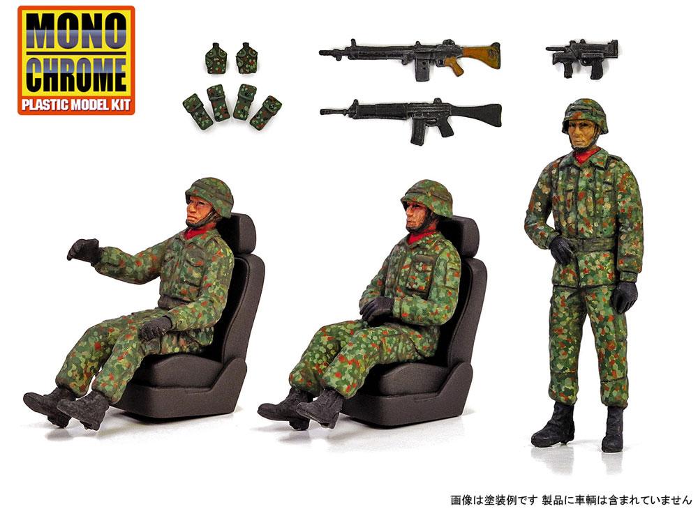 陸上自衛隊 車輌搭乗員セット 中央即応連隊 ラバーパッチ付属プラモデル(モノクローム1/35 AFVNo.MCT915SS)商品画像_2