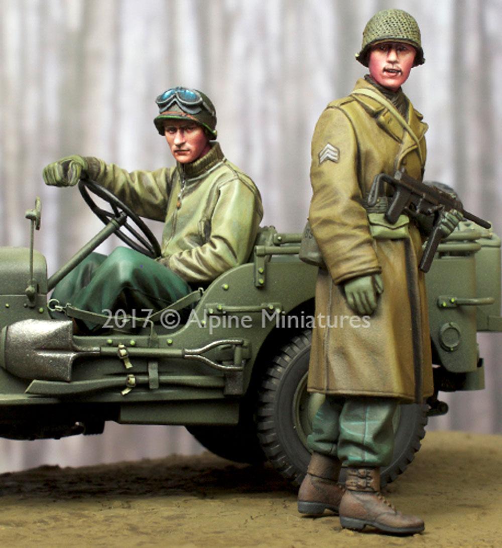 WW2 アメリカ 下士官 & ドライバー セットレジン(アルパイン1/35 フィギュアNo.AM35243)商品画像_2