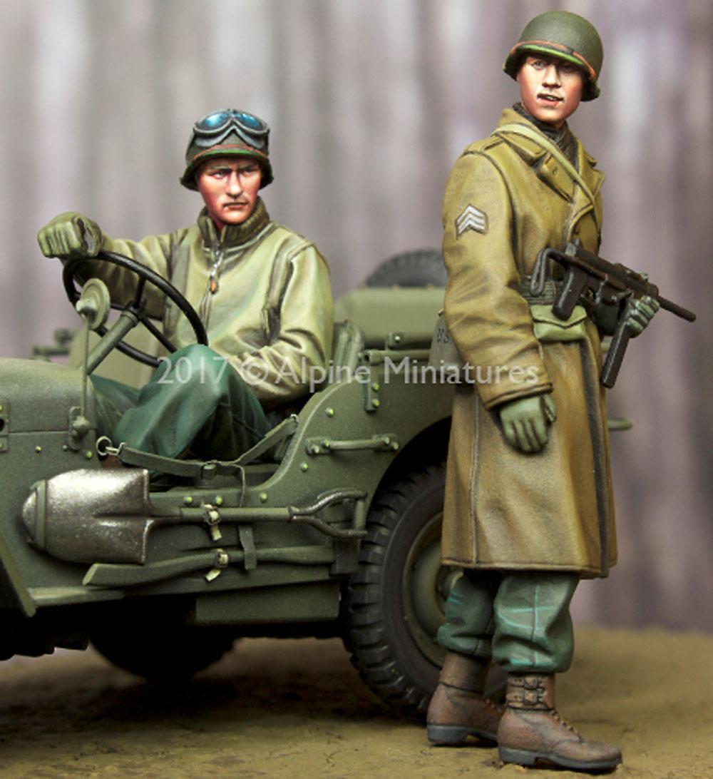 WW2 アメリカ 下士官 & ドライバー セットレジン(アルパイン1/35 フィギュアNo.AM35243)商品画像_3