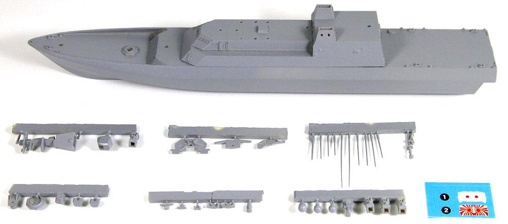海上自衛隊 新型多機能護衛艦 (DEX)レジン(アートテクニクス1/700 艦船No.HM052)商品画像_1