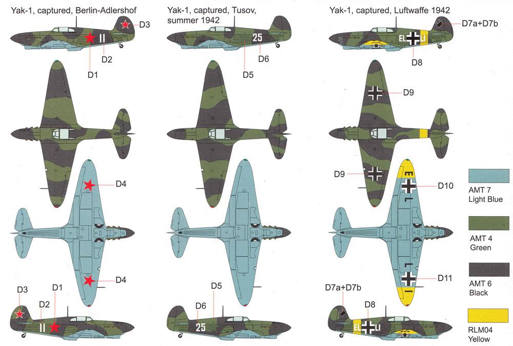 Yak-1 鹵獲機プラモデル(ブレンガン1/72 Plastic kitsNo.BRP72028)商品画像_2