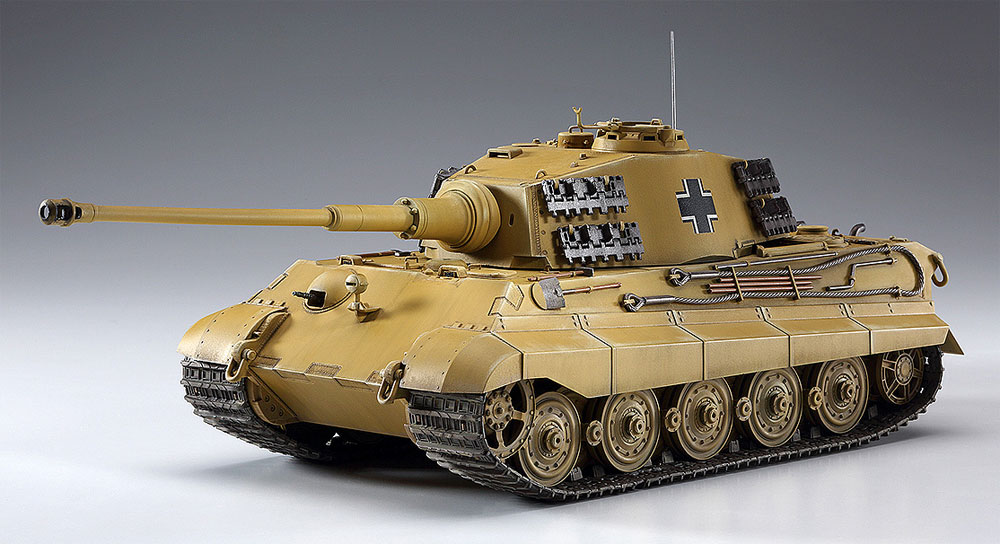 ラインの虎 キングタイガー (ヘンシェル砲塔)プラモデル(ハセガワクリエイター ワークス シリーズNo.64759)商品画像_2