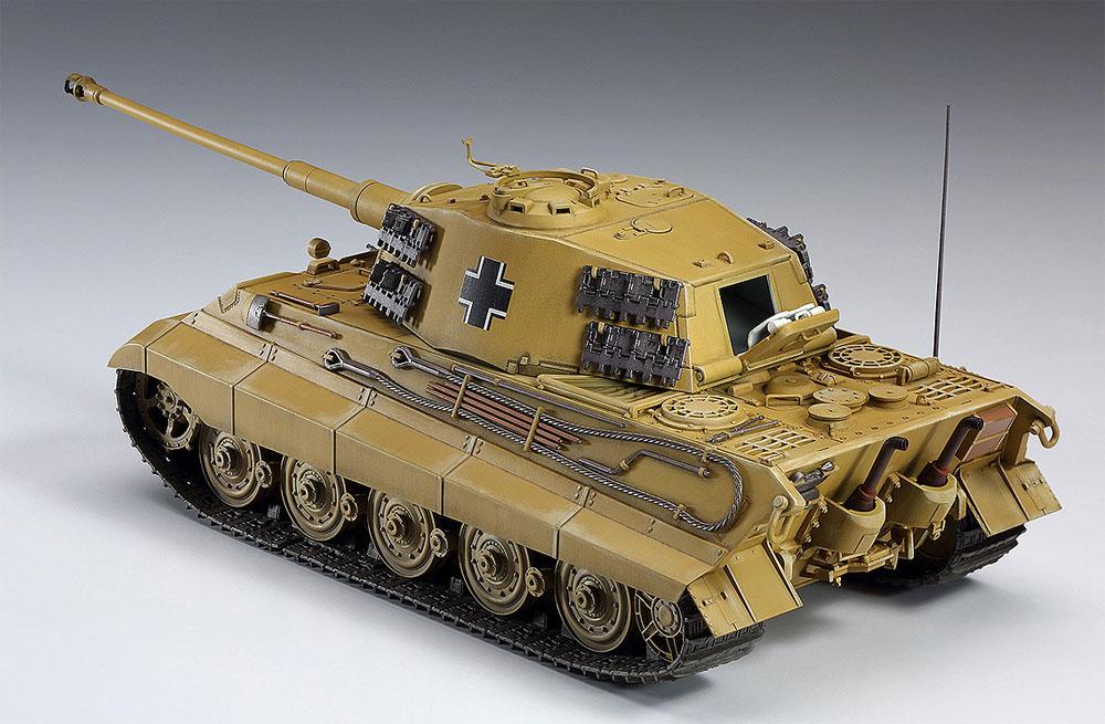 ラインの虎 キングタイガー (ヘンシェル砲塔)プラモデル(ハセガワクリエイター ワークス シリーズNo.64759)商品画像_3