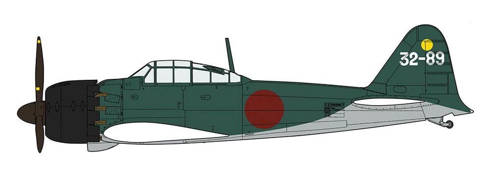 三菱 A6M5 零式艦上戦闘機 52型 夜間戦闘機プラモデル(ハセガワ1/32 飛行機 限定生産No.08252)商品画像_3