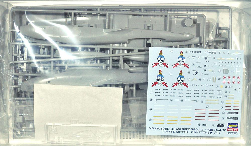 A-10 サンダーボルト 2 グレッグ・ゲイツ (エリア88)プラモデル(ハセガワクリエイター ワークス シリーズNo.64760)商品画像_1
