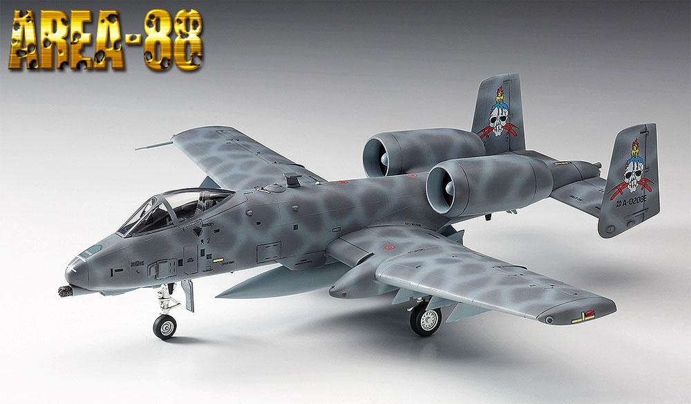A-10 サンダーボルト 2 グレッグ・ゲイツ (エリア88)プラモデル(ハセガワクリエイター ワークス シリーズNo.64760)商品画像_2