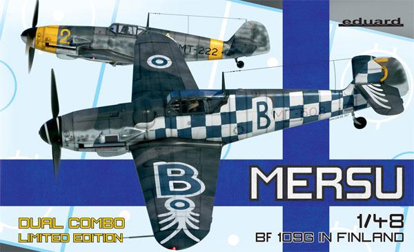 メッサーシュミット Bf109G フィンランド空軍 デュアルコンボプラモデル(エデュアルド1/48 リミテッドエディションNo.11114)商品画像