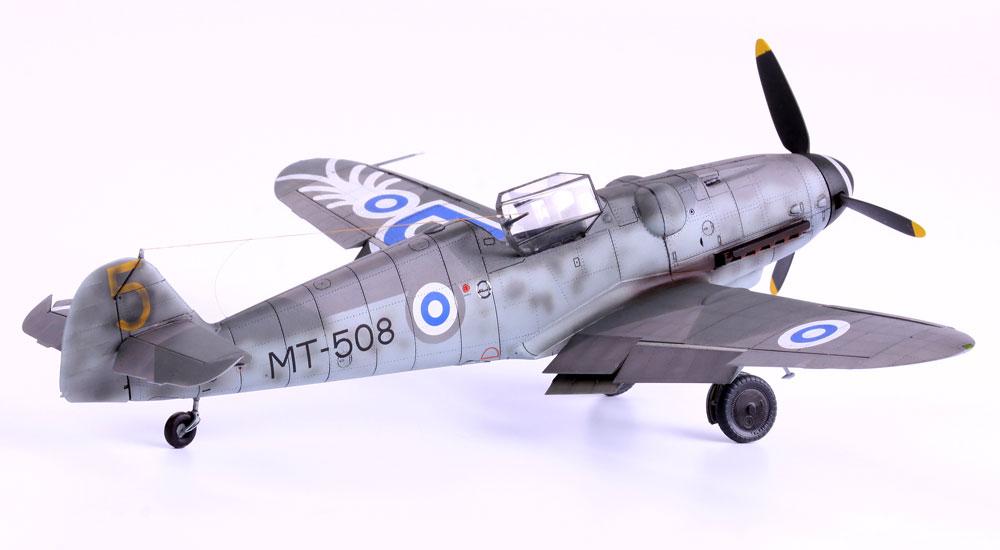 メッサーシュミット Bf109G フィンランド空軍 デュアルコンボプラモデル(エデュアルド1/48 リミテッドエディションNo.11114)商品画像_3