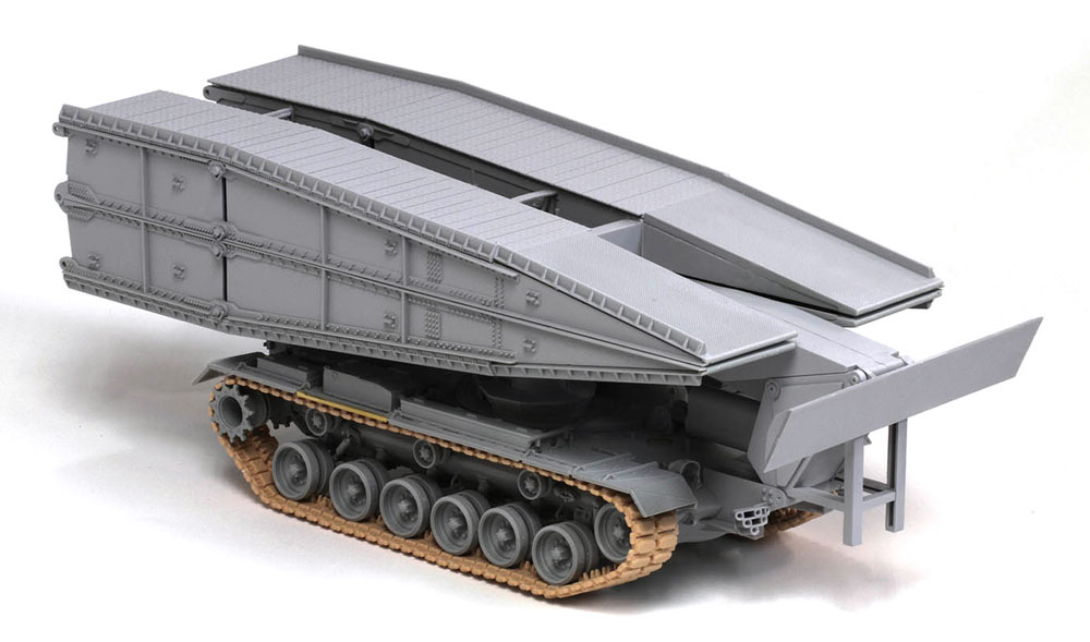 アメリカ M48 AVLB 架橋戦車プラモデル(ドラゴン1/35 Modern AFV SeriesNo.3606)商品画像_2